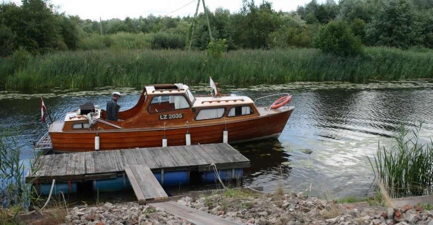 kāzu vietas ar laivu